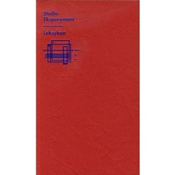 Studio Eksperyment Leksykon Zbiór tekstów (opr. miękka)