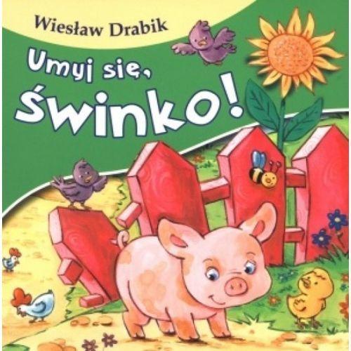 Książki dla dzieci, Umyj si?, ?winko! (opr. kartonowa)