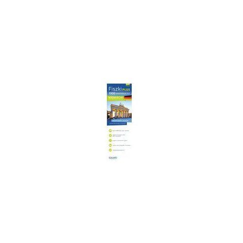 Książki do nauki języka, FISZKI PLUS 1000 NAJWAŻNIEJSZYCH SŁÓW NIEMIECKI DLA POCZĄTKUJĄCYCH + CD (opr. kartonowa)