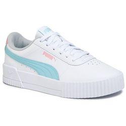 Sneakersy PUMA - Carina L Jr 370677 06 Puma White/Gulf Stream