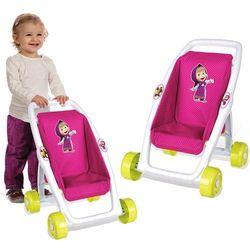 Smoby Masza i niedźwiedź Wózek spacerówka dla lalek 250201