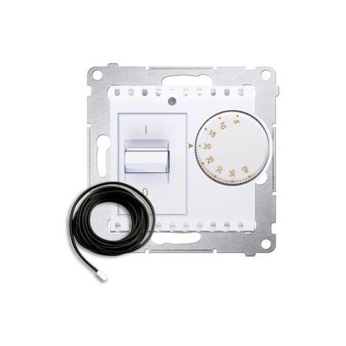 Regulatory i sterowniki, Regulator temperatury Simon 54 DRT10Z.02/11 z czujnikiem zewnętrznym biały Kontakt-Simon