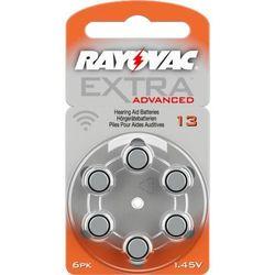 6 x baterie do aparatów słuchowych Rayovac Extra Advanced 13 MF