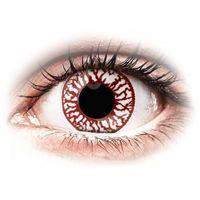 Soczewki kontaktowe, ColourVUE Crazy Lens - Blood Shot - jednodniowe zerówki (2 soczewki)