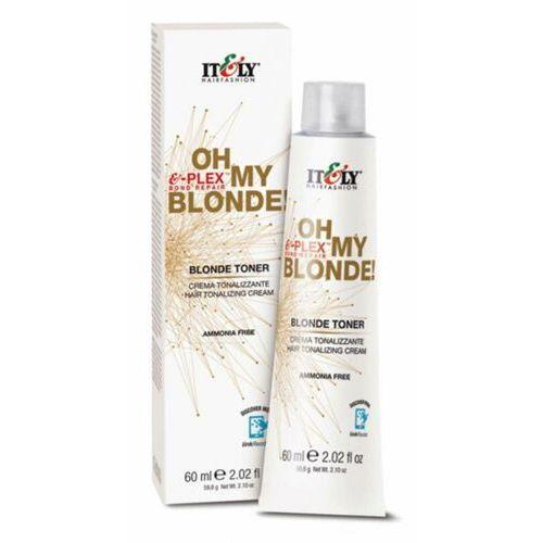 Inne kosmetyki do włosów, Itely Hairfashion OH MY BLONDE! BLONDE TONER - CARAMEL Toner do włosów rozjaśnionych (karmel)