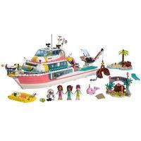 Klocki dla dzieci, 41381 ŁÓDŹ RATUNKOWA (Rescue Mission Boat) KLOCKI LEGO FRIENDS