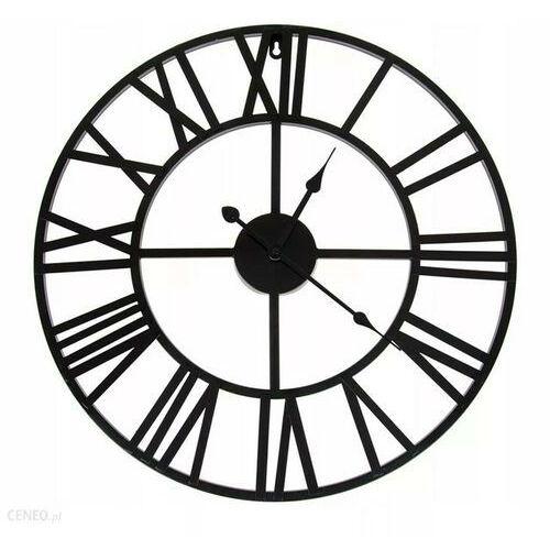 Zegary, Duży metalowy zegar ścienny RETRO loft 60 cm