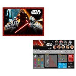 Podkład szkolny na biurko obustronny Star Wars 55x38 cm