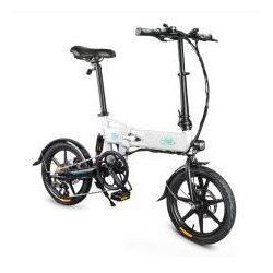 Składany rower elektryczny FIIDO D2S - biały