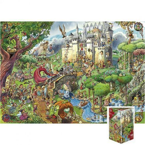 Puzzle, HEYE Puzzle Fairy Tale s, Pradest