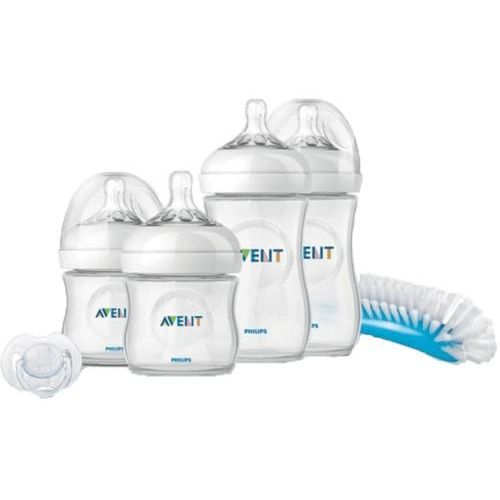Butelki do karmienia, AVENT Zestaw początkowy dla noworodków Natural