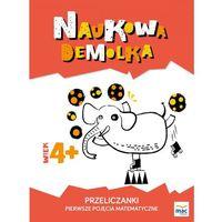 Książki dla dzieci, PRZELICZANKI PIERWSZE POJĘCIA MATEMATYCZNE NAUKOWA DEMOLKA (opr. broszurowa)