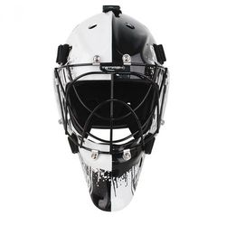 Maska bramkarska unihokej Tempish Hero biało-czarna tempish (-15%)