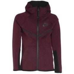 Nike Performance HOODIE Bluza rozpinana dark team red/heather/black/anthracite