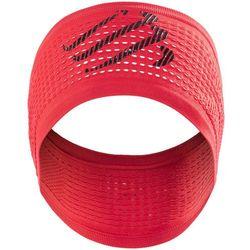 Compressport Headband - opaska na głowę (czerwony)