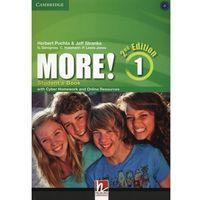 Książki do nauki języka, More! 1 Second Edition. Podręcznik + Cyber Homework + Online Resources (opr. miękka)