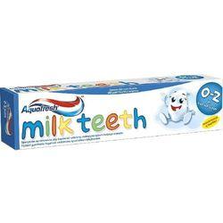Aquafresh Pasta do Zębów Milk Teeth dla Dzieci 0-2 lat 50 ml