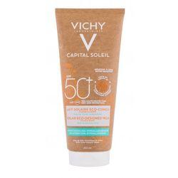 Vichy Capital Soleil Solar Eco-Designed Milk SPF50 preparat do opalania ciała 200 ml dla kobiet