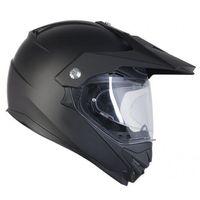 Kaski motocyklowe, OZONE MXT-01 PINLOCK READY BLACK MATT Kask duale