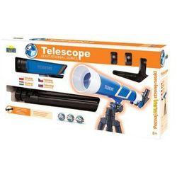Teleskop z trzema obiektywami + statyw