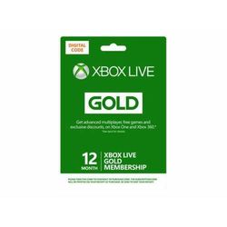MS ESD XBOX LIVE 12 MONTH GOLD WW ONLINE ESD R15