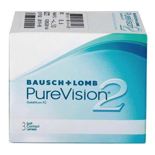 Soczewki kontaktowe, PureVision 2 HD 3 szt.