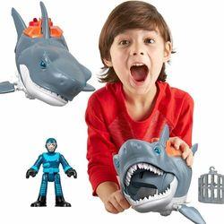FISHER PRICE Imaginext Rekin Megaszczęka + Figurka nurka