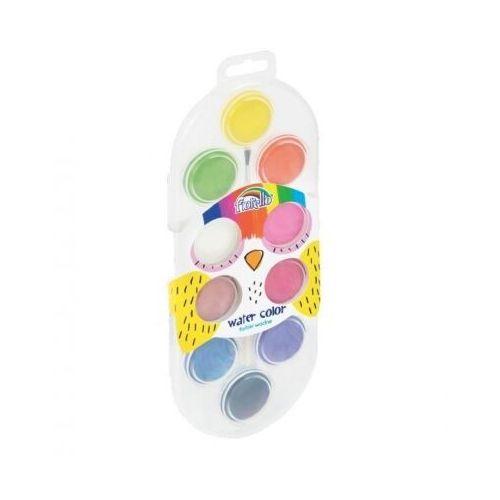 Farbki, Farby wodne 10 kolorów FIORELLO