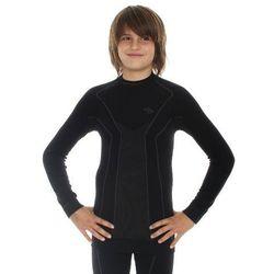 Bluza Termoaktywna Męska Brubeck Thermo Junior LS13640 Czarny