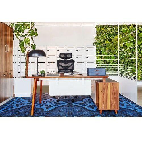 Biurka i stoliki, Nowoczesne biurko z pomocnikiem EVOLUTIO A609 160 cm