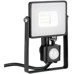 Naświetlacz lampa 10W V-TAC LED z czujnikiem