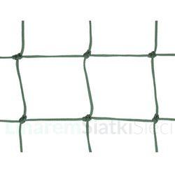 Siatka na ogrodzenia boisk. Piłkołap polietylenowy oko 100mm x 100mm linka fi 4mm.