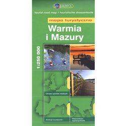 Warmia I Mazury. Mapa Turystyczna W Skali 1:250 000 (opr. miękka)