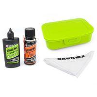Narzędzia rowerowe i smary, Zestaw do czyszczenia napędu Bike-Fit Turbo Spray 200 ml, Top Kett 100 ml, ściereczka