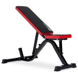 Ławka treningowa HS-1030 czerwona Hop-Sport - czerwony