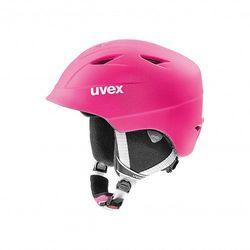 UVEX kask narciarski dziecięcy Airwing 2 pro - pink mat (52-54 cm)