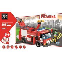 Klocki Blocki Straż pożarna Wóz gaśniczy 206 elementów - Icom