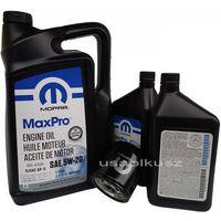 Oleje silnikowe, Olej MOPAR 5W20 oraz oryginalny filtr RAM 5,7 V8 2013-
