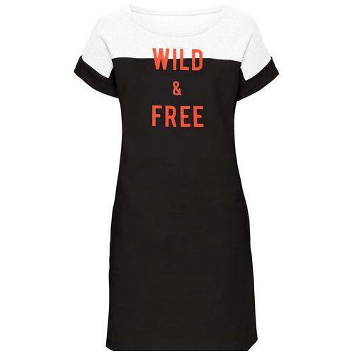 Suknie i sukienki, Sukienka w tygrysie cętki bonprix pomarańczowo-czarny