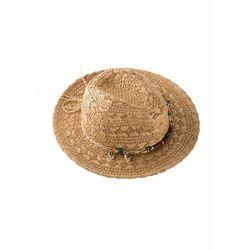 "Bonprix Słomkowy kapelusz ""fedora"" naturalny"