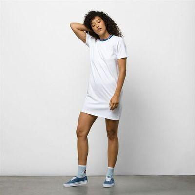 146c24e5 sukienka VANS - Funnier Dress White (WHT) rozmiar: XS, kolor biały