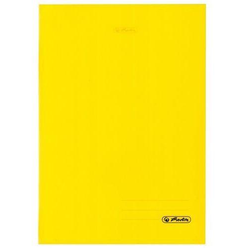 3d768b08 Zeszyt b5 60k kratkę okładka folii pp - żółty marki Herlitz promocja 2019