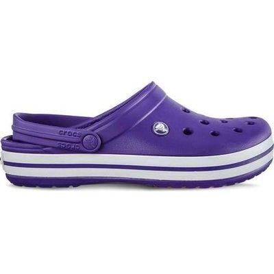 styl mody różnie zniżki z fabryki Crocs 11016-50L Ultraviolet White, chodaki, kolor fioletowy