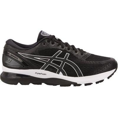 Asics gel nimbus 21 shoes men, blackdark grey us 14 | eu 49 2019 szosowe buty do biegania