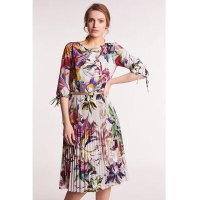 0f449ef7 Sukienka w kwiatowy wzór aneta marki Poza