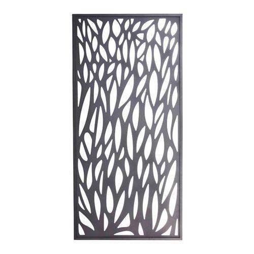 Moduł dekoracyjny Blooma Neva aluminiowy 88 x 179 cm szary (3663602943020)