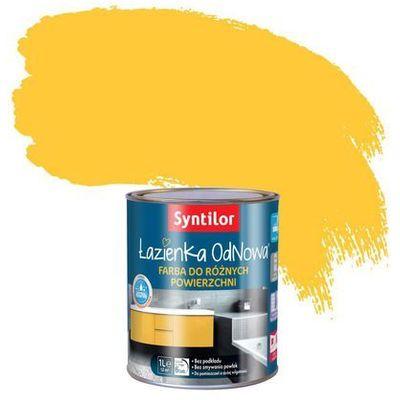Emalia Do łazienki Odnowa żółty Słoneczny Syntilor Kolor żółty
