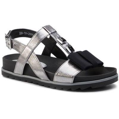 Sandały 2945115 P Ciemny Szary, w 2 rozmiarach (Karino)