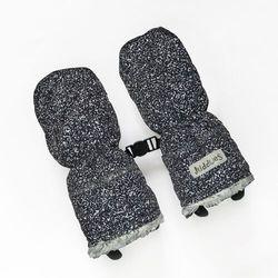 Juddlies rękawiczki salt& pepper black 0-6