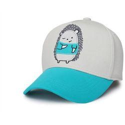 czapka z daszkiem dziecięca jeż upf50+ rozm. m marki Flapjack